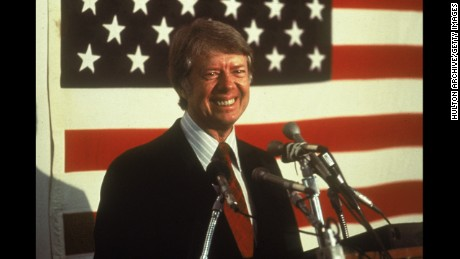 Jimmy Carter, the thirty-ninth President (1977-1981)