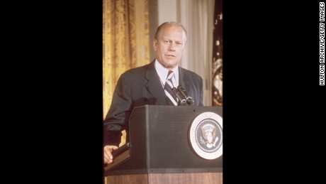 Gerald R. Ford, the thirty-eighth President (1974-1977)