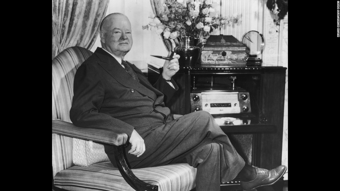"Herbert Hoover was perhaps the most prominent American businessman to rise to the presidency. He did so with no prior elected experience, though he held several official posts. His career as a mining engineer made him a multimillionaire, amassing a fortune estimated<a href=""http://www.theatlantic.com/business/archive/2010/05/the-net-worth-of-the-us-presidents-from-washington-to-obama/57020/"" target=""_blank""> by The Atlantic Magazine</a> at about $75 million in today's dollars."