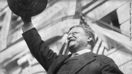 Theodore Roosevelt, the twenty-sixth president (1901-1909)