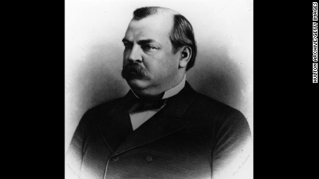 Grover Cleveland, the 22nd president (1885-1889) and the 24th president (1893-1897)