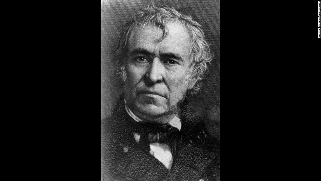"Zachary Taylor (1849-1850), aka ""Old Rough and Ready,"" was a hero in the Mexican-American War. Mystery surrounds his actual cause of death from a stomach ailment. Did he just eat too many cherries, or was it murder? The 1991 exhumation of his body proved it wasn't arsenic poisoning at least."