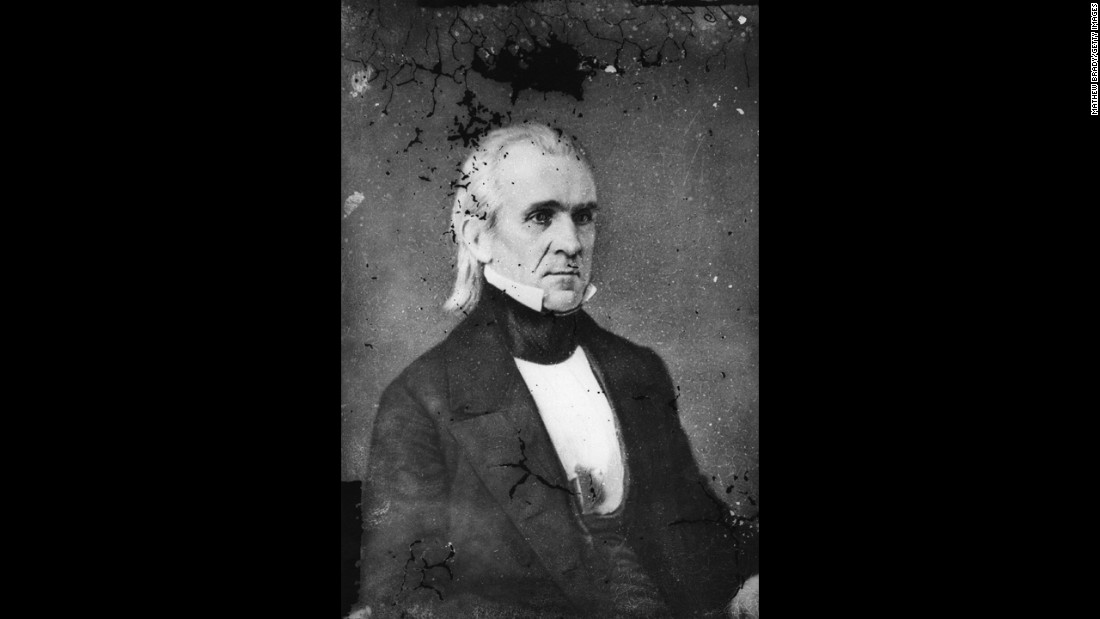 "The 11th president, James Polk, was known to be a very finicky eater. Instead of the ""fancy food"" served at the White House, he preferred turnip greens and cornbread, said William Seale, historian and journal editor for the White House Historical Association."