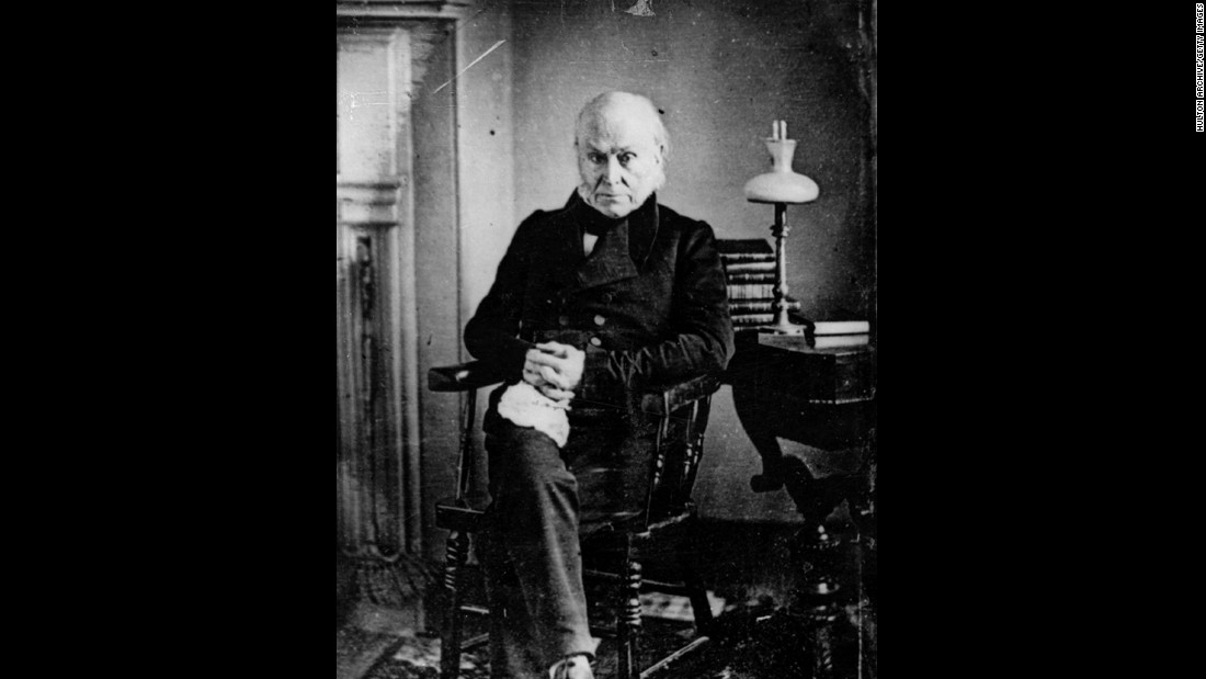 John Quincy Adams (1825-1829) was the son of second President John Adams. He was the only President to serve in the House of Representatives after serving as President.