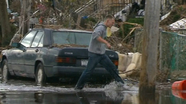 Sandy survivor: 'Nobody was coming'