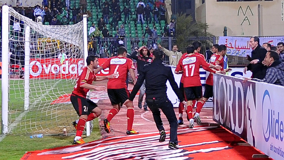 Post Mubarak in 2011, soccer returned to Egypt after a brief suspension of the league. In the security vacuum violence grew. In February this year,  74 fans of Al Ahly, many of them Ahlawy members, died in Port Said after they were attacked by rival fans in the stands.