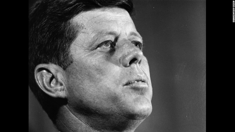 John F. Kennedy (1961-1963) was the first Roman Catholic President. He was assassinated in his first term, which was marked by the signing of the Nuclear Test-Ban Treaty, the creation of the Peace Corps, the disastrous Bay of Pigs invasion, and the beginning of military involvement in Vietnam.