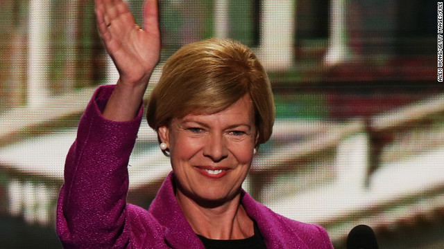 Baldwin elected first openly gay senator