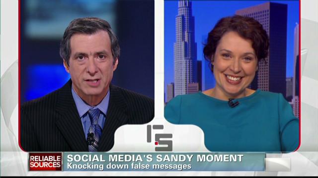 Social media's Sandy moment