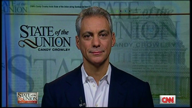 Rahm Emanuel: 'It's a close election'