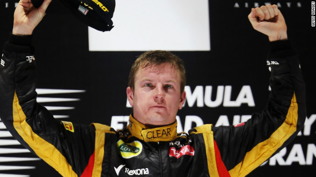 Kimi Raikkonen's last grand prix win prior to Sunday's Abu Dhabi triumph was in Belgium in 2009.