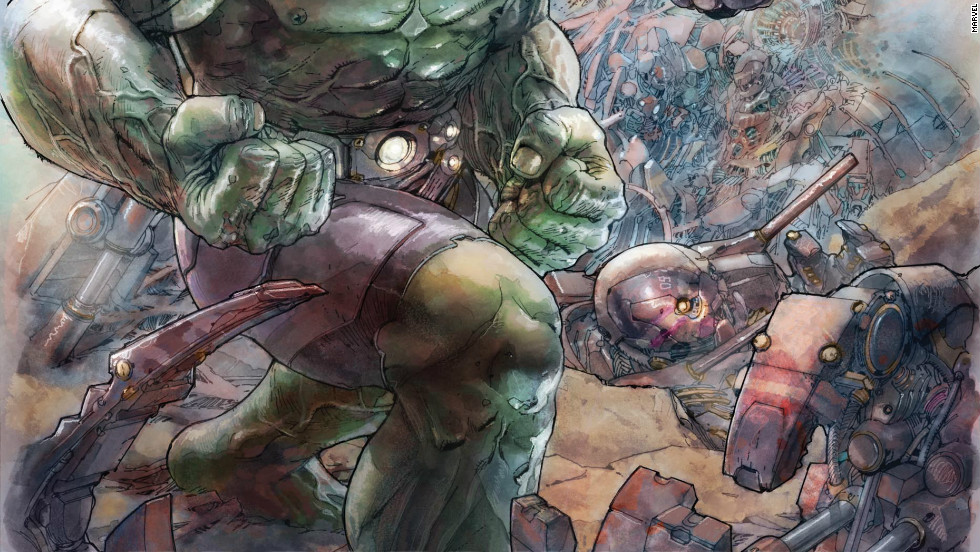 """With the Hulk's newfound popularity,  thanks to """"The Avengers"""" box office success, Marvel Now presents a """"whole new side"""" of the big galoot in """"Indestructible Hulk"""" No. 1, out November 21. Award-winning writer Mark Waid has a more """"enlightened"""" Bruce Banner joining S.H.I.E.L.D., the organization driving the story in the popular film."""