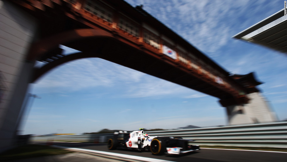 """Sergio """"Checo"""" Perez has been the surprise package of the 2012 Formula One season -- just his second year in the elite division of motorsport."""