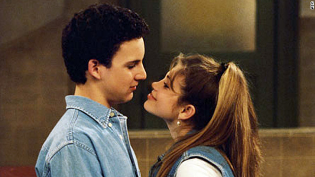 "Cory Matthews (Ben Savage) was hopelessly in love with Topanga Lawrence (Danielle Fishel) on ""Boy Meets World."""