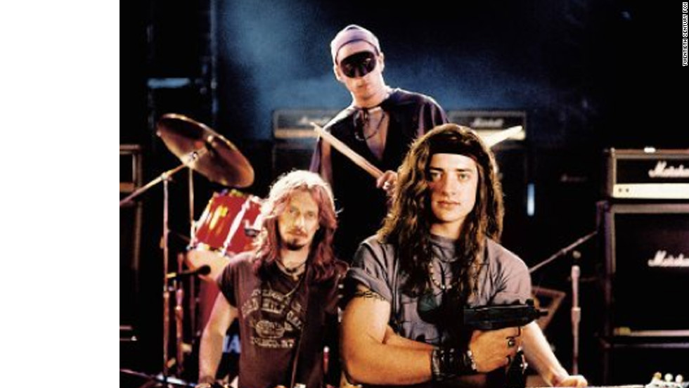 """In 1994's """"Airheads,"""" Steve Buscemi, Adam Sandler and Brendan Fraser make up The Lone Rangers, a band willing to do anything for a big break."""