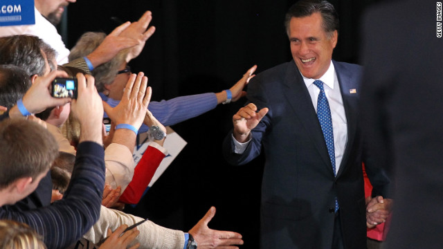 Presumptive nominee | April 10, 2012