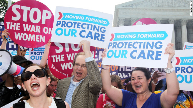 Obamacare upheld | June 28, 2012