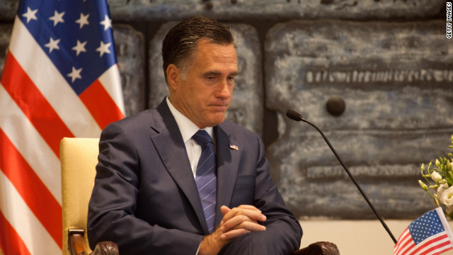 Romney's overseas trip | July, 2012