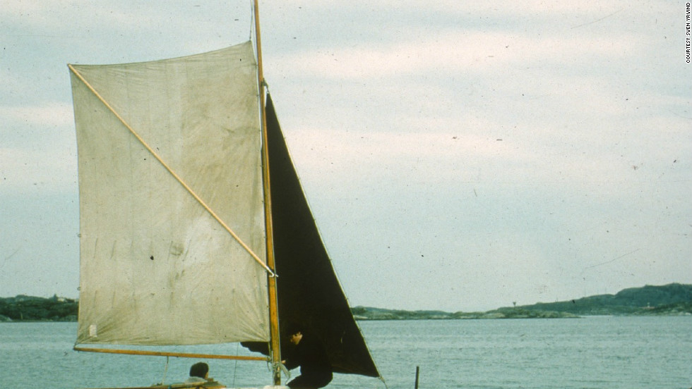 "Yrvind was inducted into the Museum of Yachting's Hall of Fame in 1988, for his many solo expeditions. In 1968 he sailed four meter boat ""Anna"" (pictured) from Sweden to England."