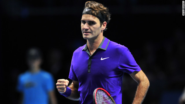 Roger Federer needed just 68 minutes to demolish Serbia's Janko Tipsarevic at the ATP World Tour Finals.