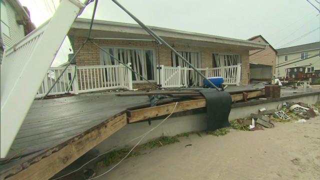 Rebuilding after Sandy