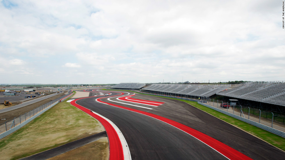 But after fittingly fast work, the Austin circuit was given its official seal of approval in September.