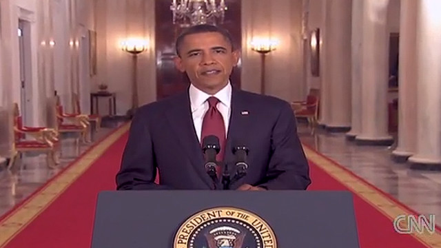 2011: Obama announces bin Laden's death