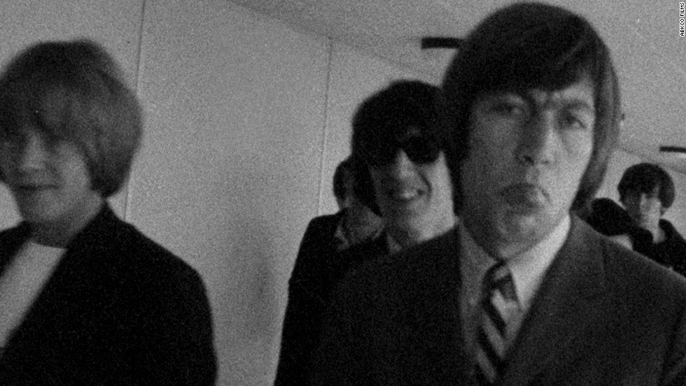 "Brian Jones, Bill Wyman and Charlie Watts from ""The Rolling Stones: Charlie Is My Darling — Ireland 1965"""