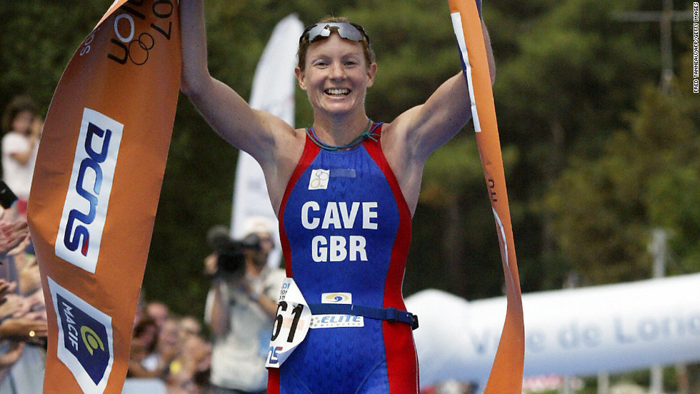 "Leanda Cave became the first female in history to win both the Ironman World Championship and the Half Ironman World Championship in 2012.  The British athlete finished the 2.4-mile swim, 112-mile bike ride and 26.2-mile run in nine hours, 15 minutes and 54 seconds, <a href=""http://www.bbc.co.uk/sport/0/triathlon/19940336 "" target=""_blank"">according to the BBC</a>."