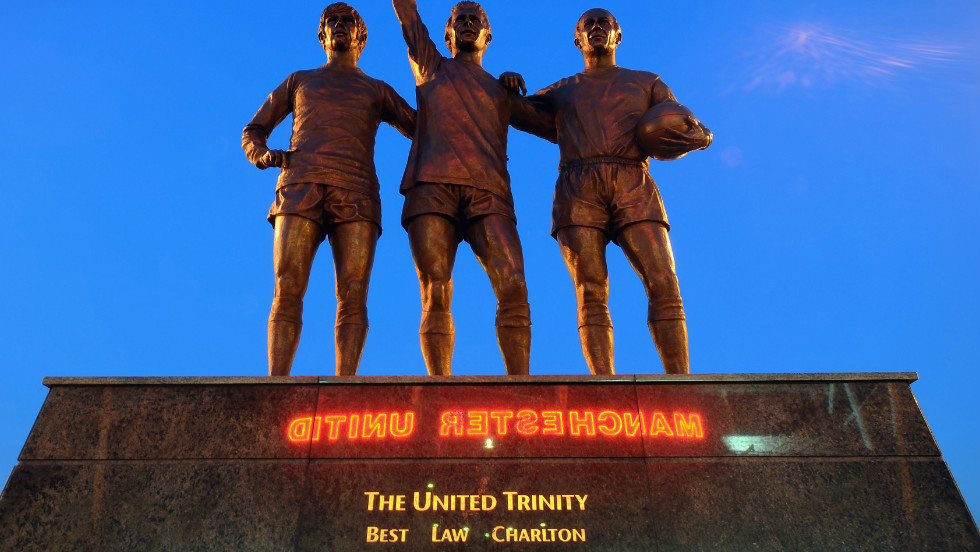 A statue of George Best, Denis Law and Bobby Charlton, which stands outside Old Trafford, depicts three of the club's greatest players. If it wasn't for Gibson, it is arguable the trio would never have pulled on the red of Manchester United.