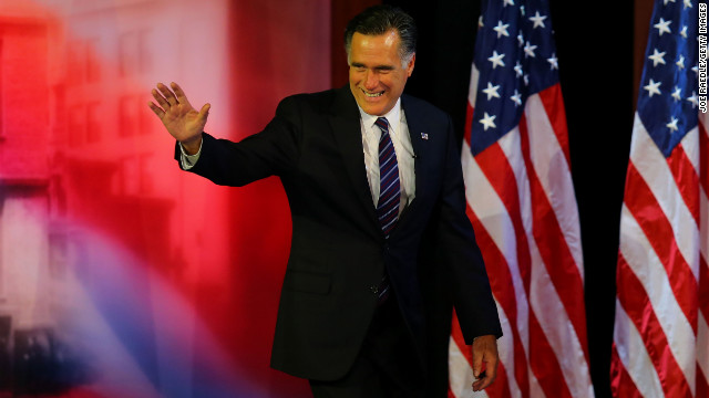Romney: Election over, principles endure