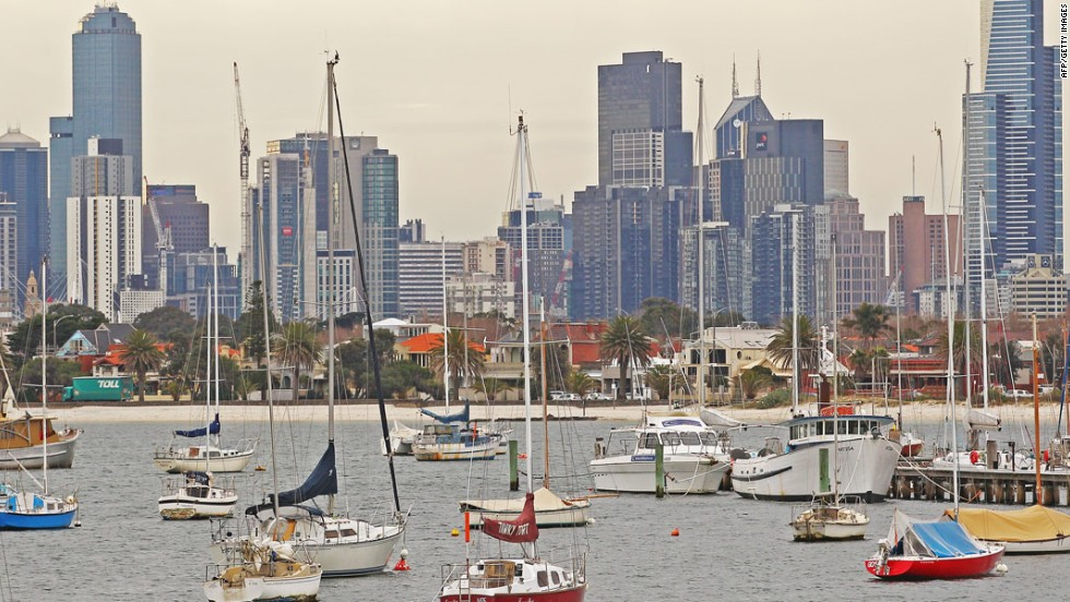 Known for its great weather and coffee culture, Melbourne is the most liveable city for the fourth year running. Excellent healthcare, education and infrastructure also helped earn this Australian city top honors.