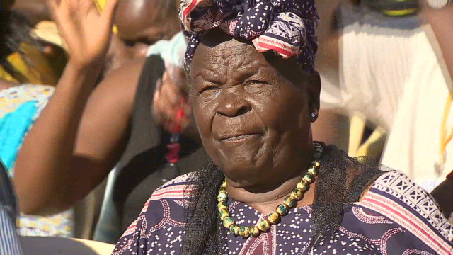 Obama's grandmother celebrates win