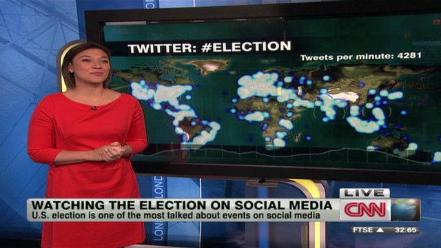 Watching the election on social media