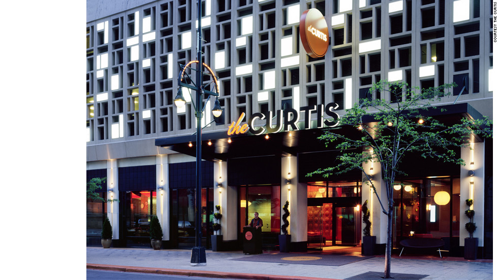 """Guests can rent out the entire 15th floor of The Curtis on December 21 as part of the """"Party Like There's No To-Maya"""" package."""