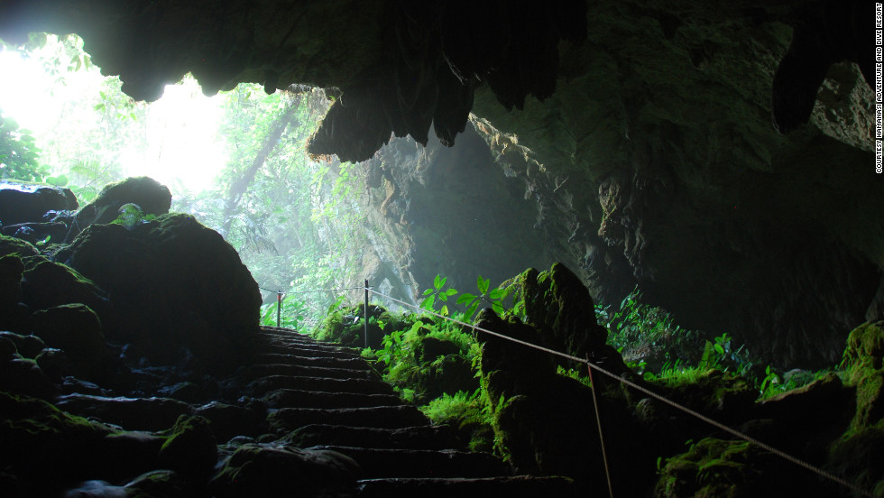 In Belize, the Hamanasi resort is near St. Herman's Cave, a Maya site containing ancient pottery.