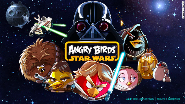 "The new ""Angry Birds Star Wars"" game follows a group of rebel birds in their fight against evil Imperial pigs."