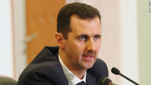Assad staying despite slide in power