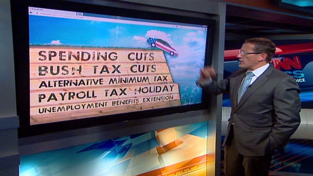 'Fiscal cliff' could bring recession