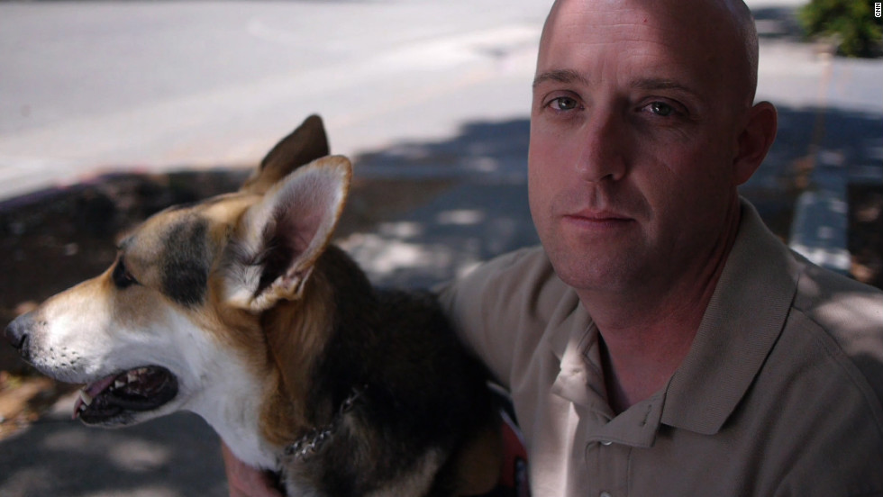 When Jeremiah Gaches came back to the United States, he isolated himself a lot. But after he met Rocky, Gaches found it much easier to get out of the house. Rocky watches Gaches' surroundings so the veteran doesn't always have to be at high alert, and if Gaches is feeling uncomfortable, Rocky will calm him down. Now, Gaches said, he's comfortable talking to people in public, and he's helping to train other veterans and their service dogs.