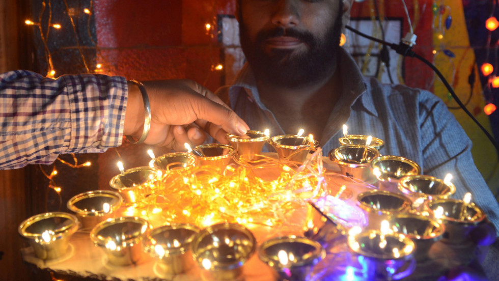 "Diwali, also known as the Festival of Lights, begins on November 13 and is celebrated for several days by millions of Hindus across the world as one of the most important events on their spiritual calendar. To commemorate Diwali, <a href=""http://ireport.cnn.com/topics/858300"" target=""_blank"">we want to see your best images</a> of the most beautiful lights."
