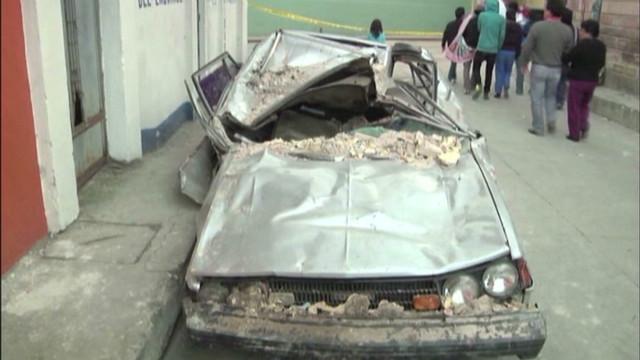 Guatemala rocked by powerful quake