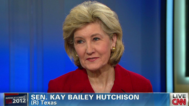 Hutchison: Tea Party muddled message
