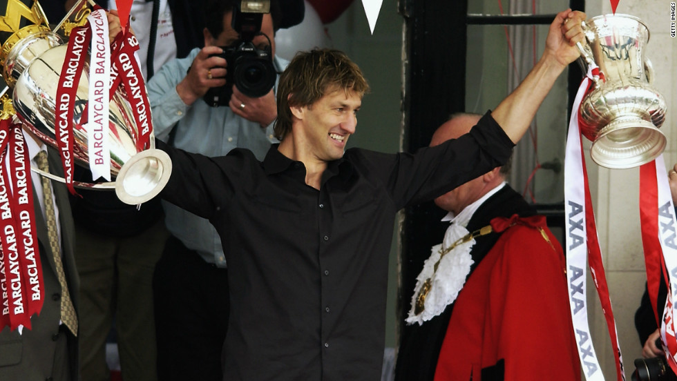 Tony Adams struggled with alcohol and drug addiction throughout his career, serving a jail sentence for drink driving in 1992. The former Arsenal captain managed to turn his life around, leading the north London club to a league and FA Cup double in 2002. He also set up the Sporting Chance clinic, aimed at helping fellow sportsmen and women hooked on gambling, alcohol and drugs.