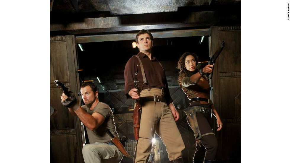 """Firefly"" fans are often heard referring to members of the cast, crew and fellow fans who do good as ""big damn heroes."" This came from an episode in which Mal and Zoe (Gina Torres) rescue Simon (Sean Maher) and River (Summer Glau) by saying, ""Appears we got here just in the nick of time. What does that make us?"" ""Big damn heroes, sir."" ""Ain't we just?"""
