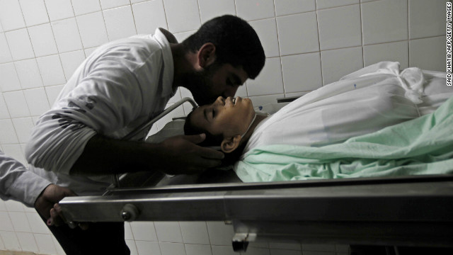 Palestinian boy killed in Gaza