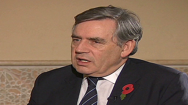Ex-British PM shows support for Malala