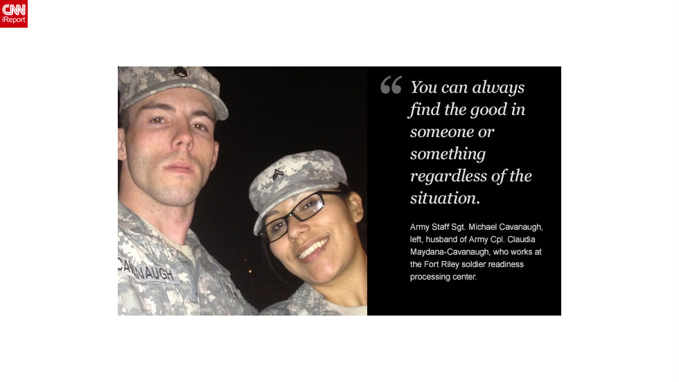 "<a href=""http://ireport.cnn.com/docs/DOC-878918"">Read Michael Cavanaugh's tribute to his wife on iReport.</a>"