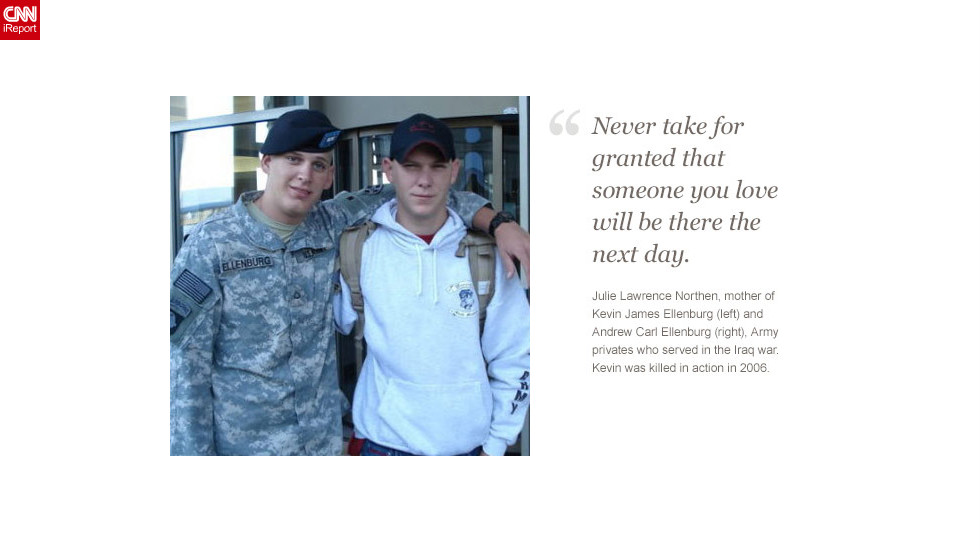 "<a href=""http://ireport.cnn.com/docs/DOC-878308 "">Read Julie Lawrence Northen's tribute to her sons on iReport.</a>"