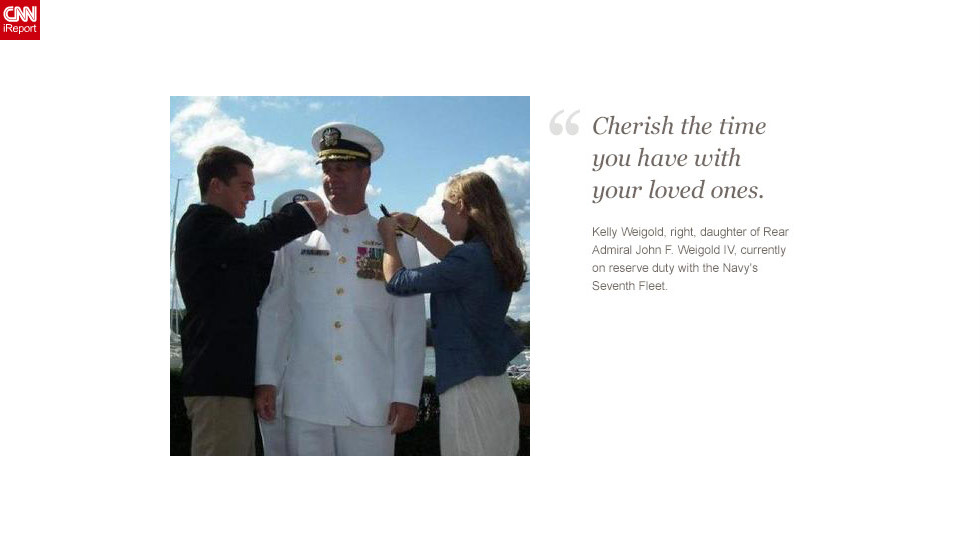 "<a href=""http://ireport.cnn.com/docs/DOC-872616"">Read Kelly Weigold's tribute to her father on iReport.</a>"